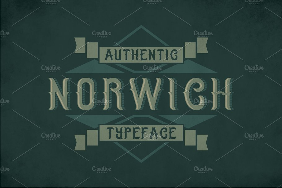Norwich Label Typeface