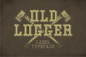 Old Logger Label Typeface