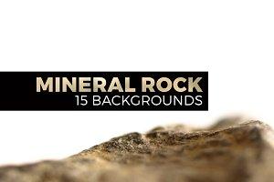 Mineral rock landscapes