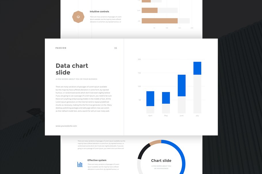 Passion Powerpoint Template Presentation Templates Creative