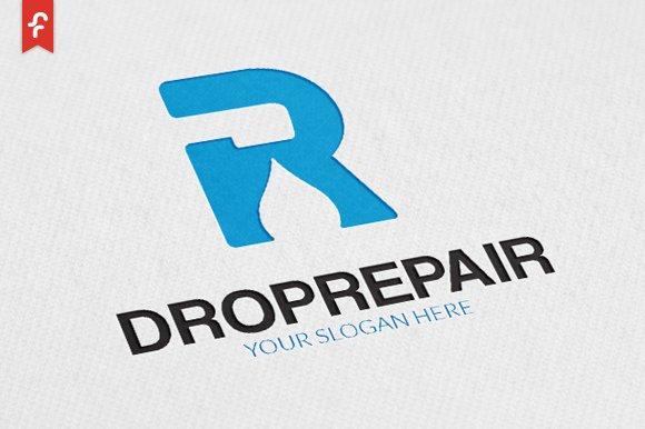 Drop Repair Logo in Logo Templates