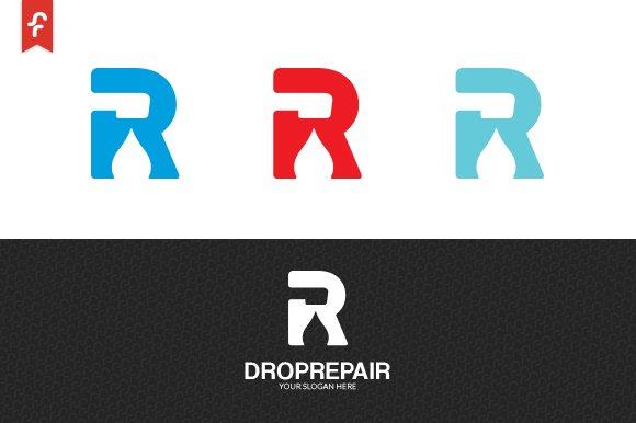 Drop Repair Logo in Logo Templates - product preview 2