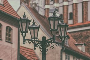 Street lamp in Old Riga