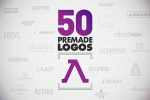 50 Letter 'A' Logos Bundle