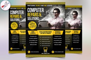 Computer Repair Business Flyer
