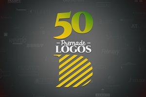 50 Letter 'D' Logos Bundle