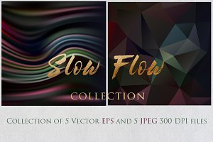 SLOW FLOW 2 collection textures set