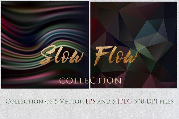 SLOW FLOW 2 Collection Textures Set