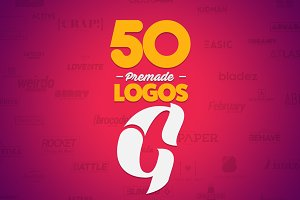 50 Letter 'G' Logos Bundle