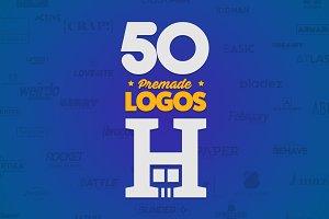 50 Letter 'H' Logos Bundle