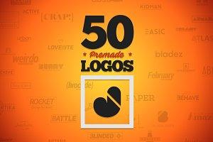 50 Letter 'J' Logos Bundle
