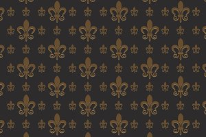 interior design royal wallpaper