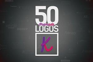 50 Letter 'K' Logos Bundle
