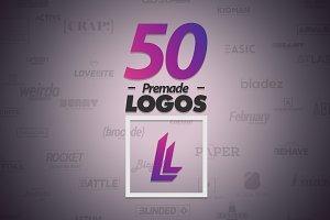 50 Letter 'L' Logos Bundle