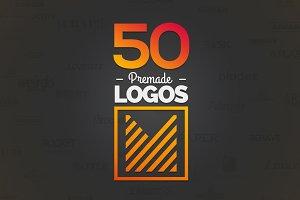 50 Letter 'M' Logos Bundle