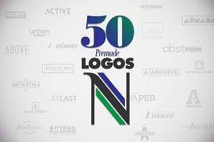 50 Letter 'N' Logos Bundle