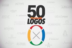50 Letter 'O' Logos Bundle