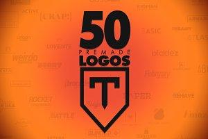 50 Letter 'T' Logos Bundle