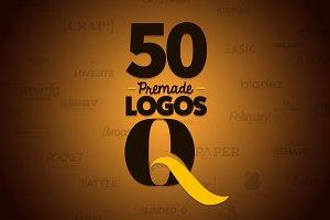 50 Letter 'Q' Logos Bundle