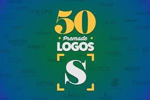 50 Letter 'S' Logos Bundle