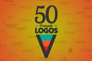 50 Letter 'V' Logos Bundle