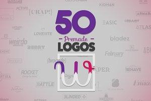 50 Letter 'W' Logos Bundle