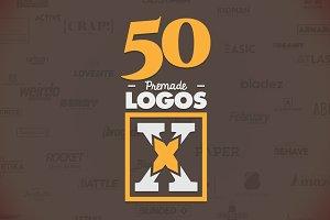 50 Letter 'X' Logos Bundle