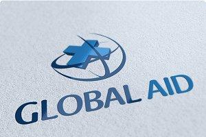 Global Aid Logo Design