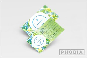 Foliage Business Card Template