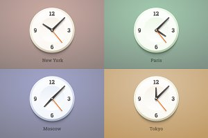World city time watches