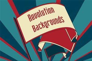 Revolution Vector Backgrounds