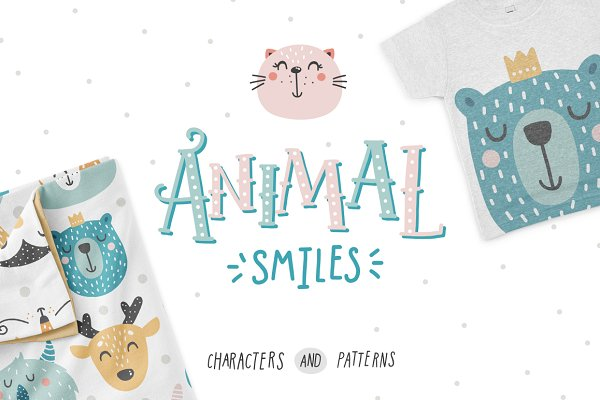 Animal smiles- Baby characters