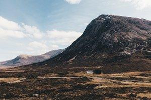 Glencoe Mountain Landscape Scotland