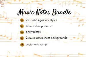 Music Notes Bundle