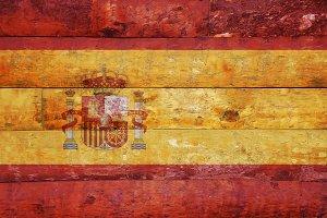 Spain flag.