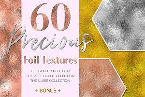 60 Precious Foil Textures
