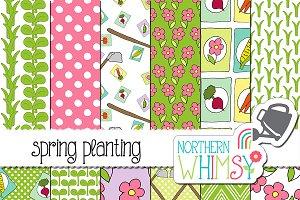 Spring Patterns:  Gardening
