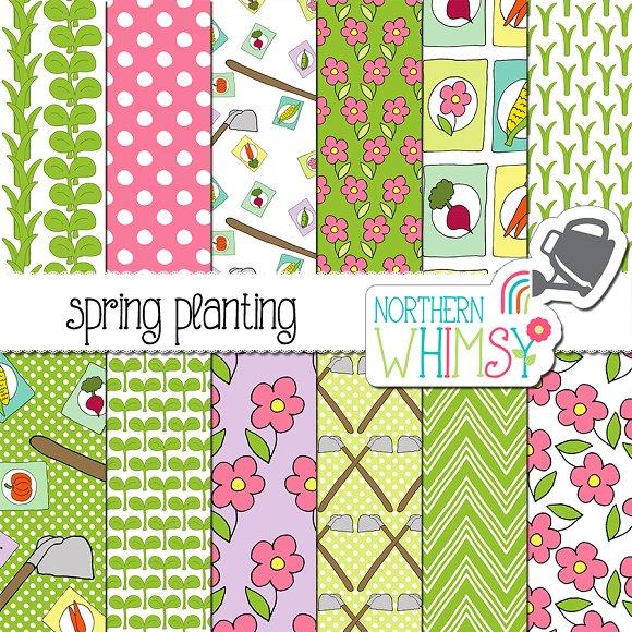 Spring Patterns Gardening