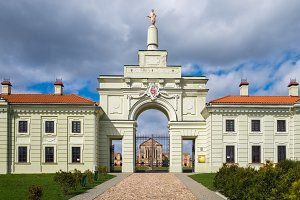 Ruzhany Palace in Belarus.