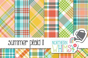 Summer Plaid Patterns