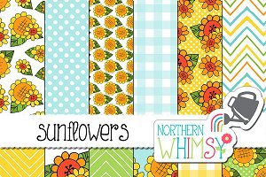 Summer Patterns - Sunflowers