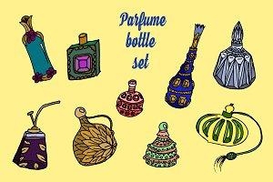 Parfume bottles set
