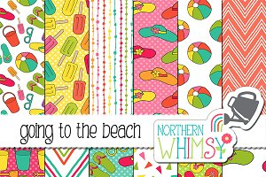 Summer Beach Patterns
