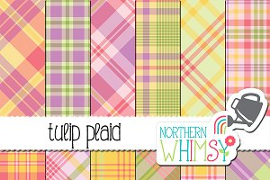 Spring Plaid Patterns
