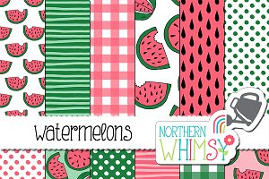 Summer Patterns - Watermelons