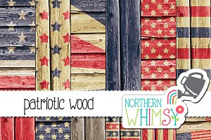 Fourth of July - Wood Patterns