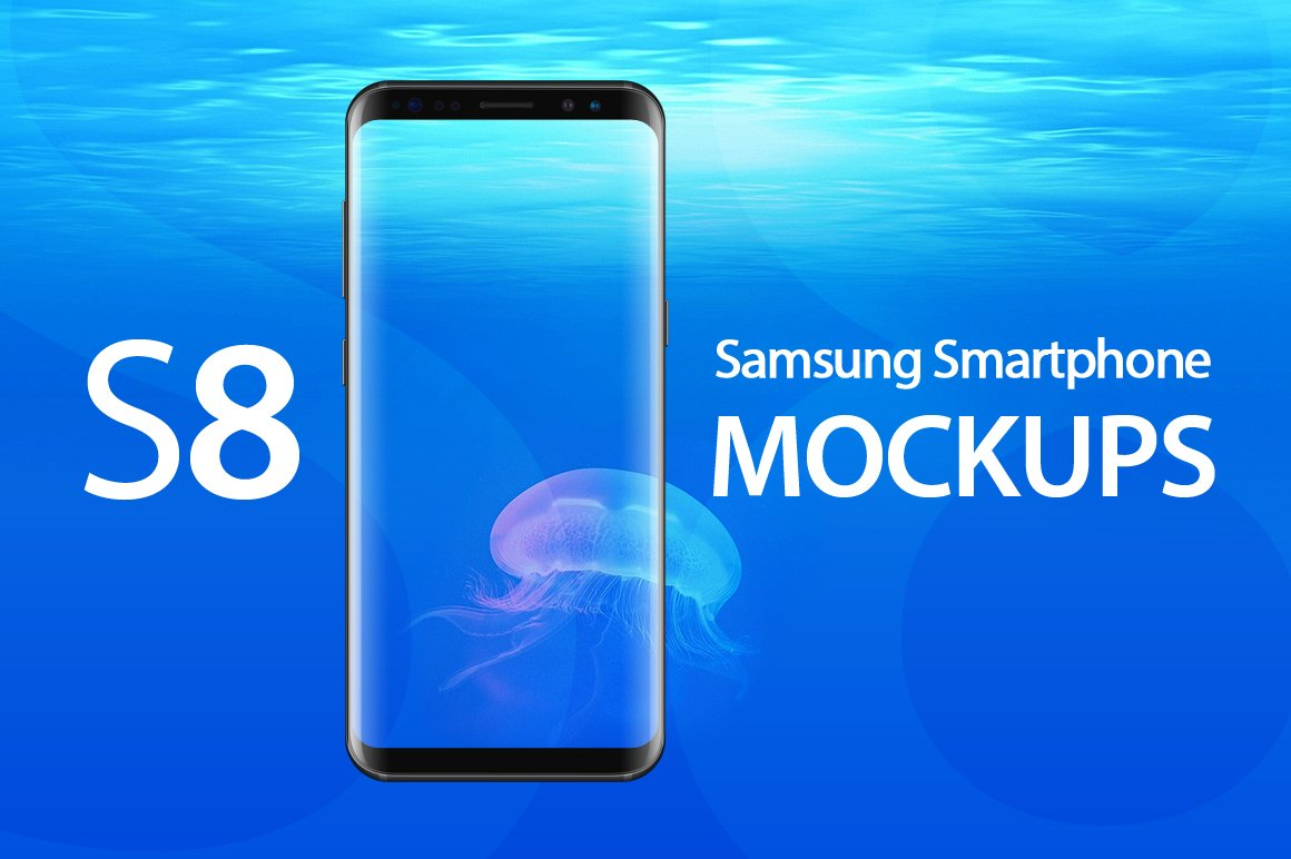 Samsung galaxy s8 photos graphics fonts themes templates galaxy s8 mockups pronofoot35fo Gallery