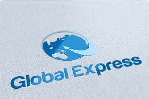 Global Express Logo Design