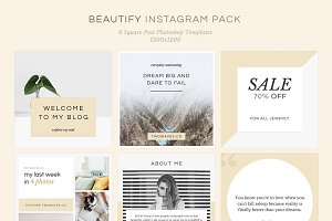 Beautify Instagram Pack