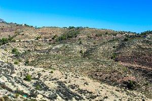 Landscape Mediterranean Arid